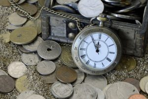 le temps et l ' argent